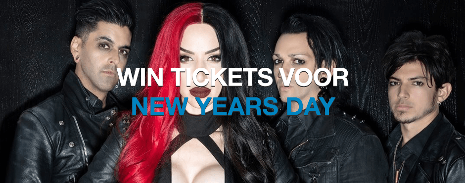 WIN: 2 x 2 tickets voor New Years Day in Melkweg